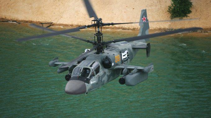 النسخة البحرية من مروحية Ka-52 الروسية