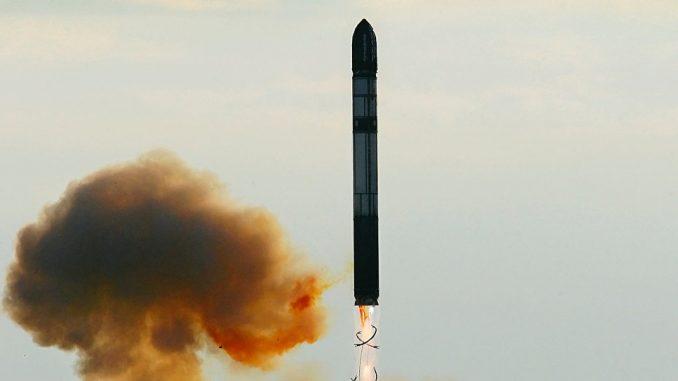 صاروخ سارمات الروسي