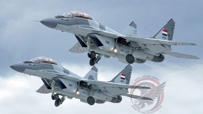 مقاتلتا MiG-29M/M2 تابعتان لسلاح الجو المصري