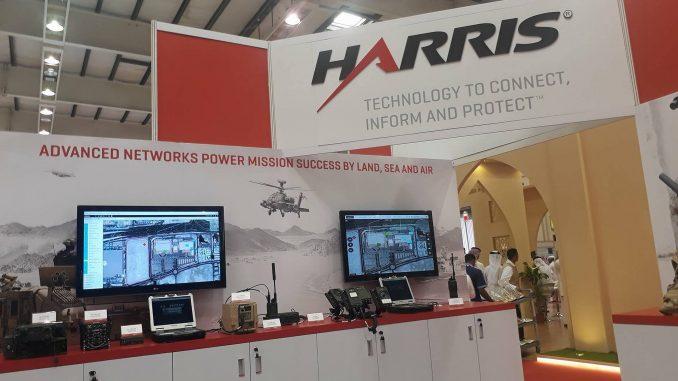 منصة Harris Corporation في معرض BIDEC 2017