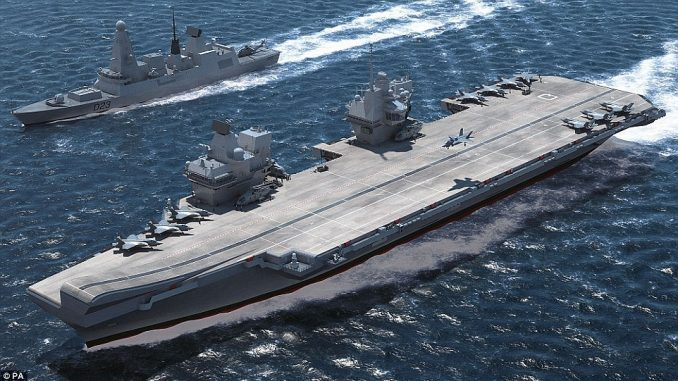 حاملة HMS Queen Elizabeth