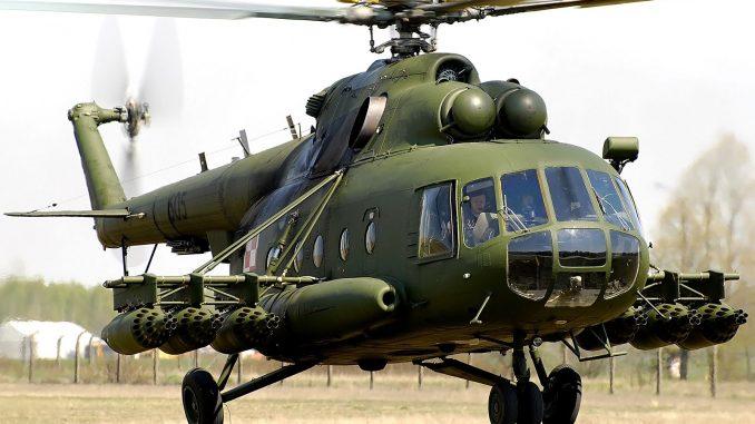مروحية مي-8 الروسية