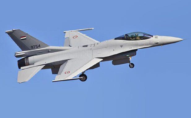 مقاتلة أف-16 مصرية