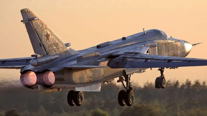 طائرة سو-24 العسكرية الروسية