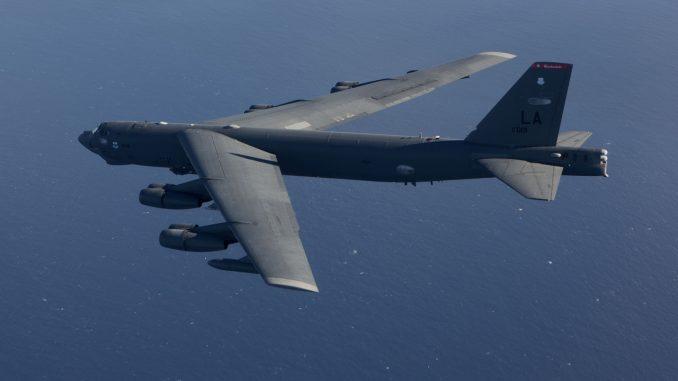 قاذفة بي-52 الأميركية