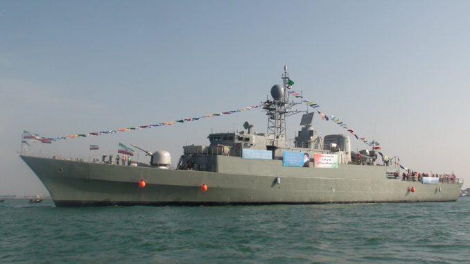 سفينة عسكرية إيرانية