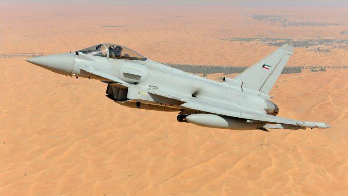 مقاتلة يوروفايتر تايفون كويتية