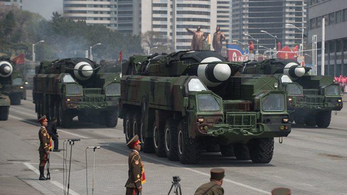 صواريخ كوريا الشمالية الباليستية