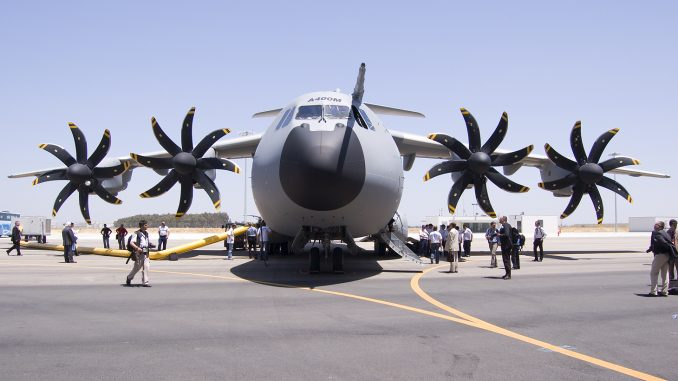 طائرة A400M من إيرباص