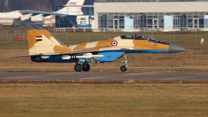 """مقاتلة MiG-29M/M2 أحادية المقعد ضمن اختبارات في قاعدة """"جوكوفسكي"""" الروسية"""