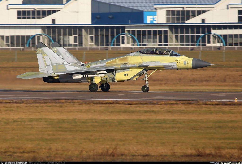"""مقاتلة MiG-29M/M2 ثنائية المقعد ضمن اختبارات في قاعدة """"جوكوفسكي"""" الروسية"""