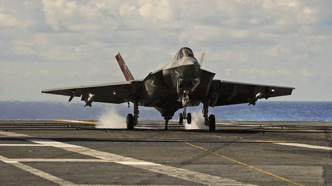 مقاتلة إف-35 المزودة بنظام JPALS