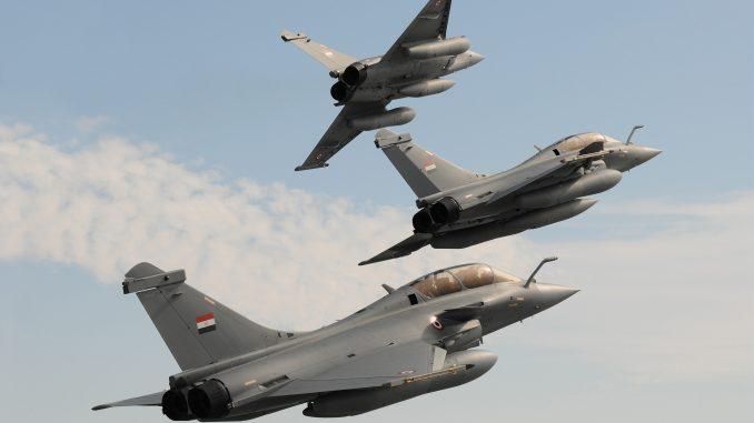 مقاتلات رافال مصرية
