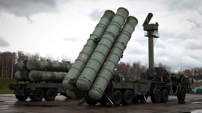 """نظام الصواريخ الروسي """"أس-400"""""""