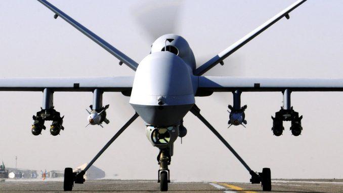 طائرة بدون طيار قتالية