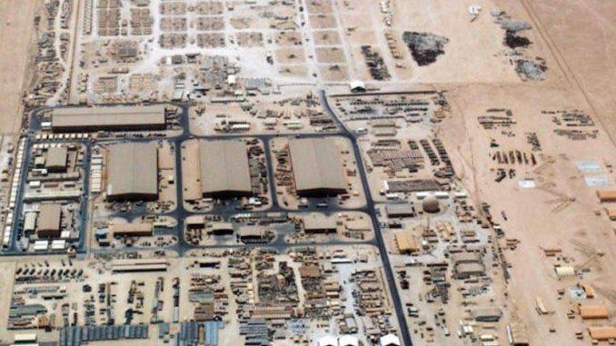 """قاعدة """"العديد"""" في قطر"""