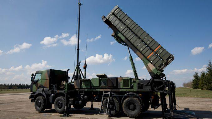 نظام الدفاع الصاروخي SAMP-T (المصدر: سلاح الجو الفرنسي)