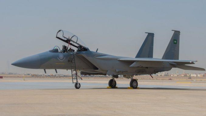 مقاتلة F-15SA تابعة للقوات الجوية السعودية