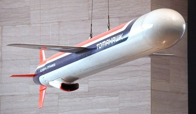 صاروخ توماهوك الأميركي