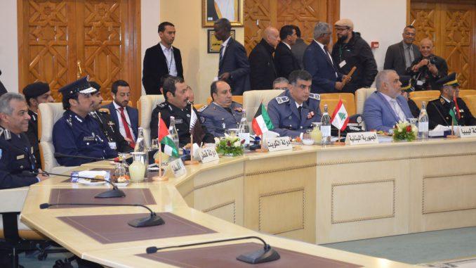 لقطة لمؤتمر قادة الشرطة والأمن العرب في تونس الذي انعقد في 6 كانون الأول/ديسمبر (الأمن الداخلي اللبناني)