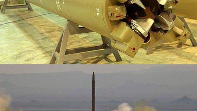 """صاروخ """"قيام-1"""" الإيراني"""