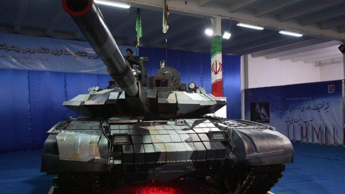 """دبابة """"كرار"""" الإيرانية محلية الصنع"""
