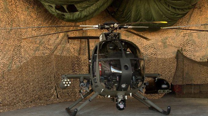 مروحية MD-530G الهجومية الخفيفة (MD Helicopters)