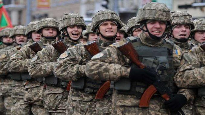 عناصر من الجيش الأوكراني
