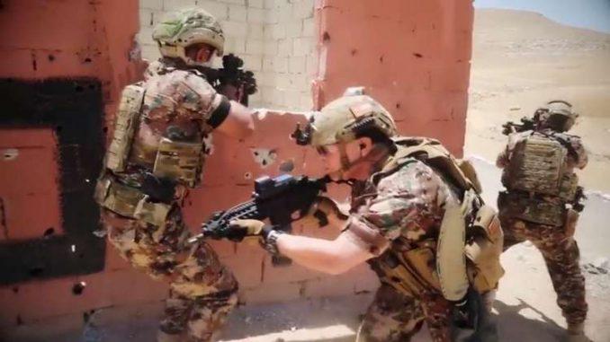 مشاركة ملك الأردن في تدريبات عسكرية