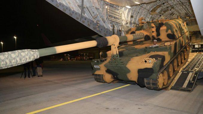 وصول القوات المسلحة التركية إلى قطر في 26 كانون الأول/ ديسمبر
