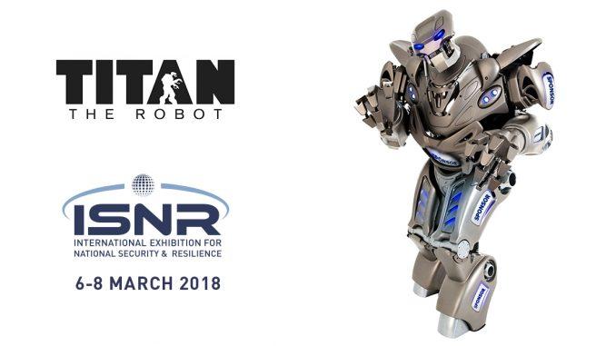 روبوت Titan الذي سيتم عرضه خلال فعاليات آيسنار أبوظبي 2018