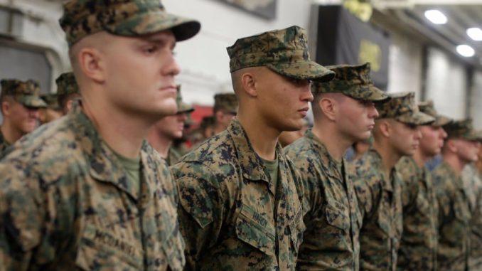 عناصر من القوات البحرية الأميركية