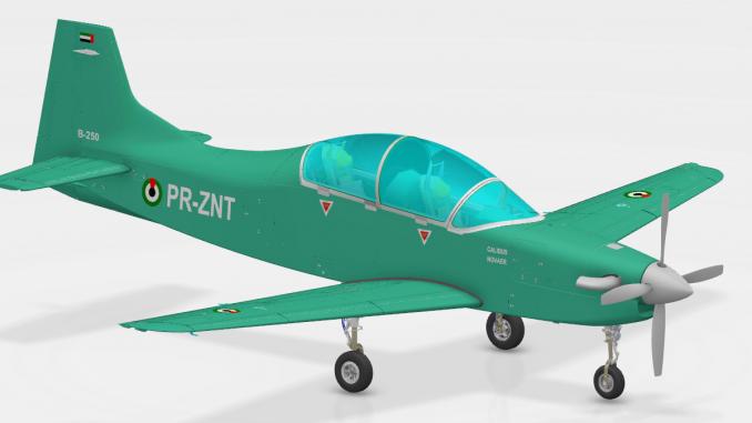 استخدام 3D Experience لتصميم أول طائرة هجوم خفيف في الإمارات