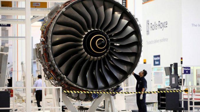 محرك طائرة من إنتاج شركة رولز رويس