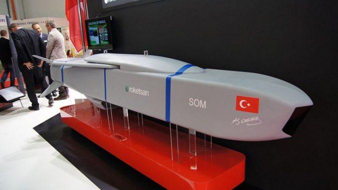 صاروخ سوم التركي الموجه (صورة أرشيفية)