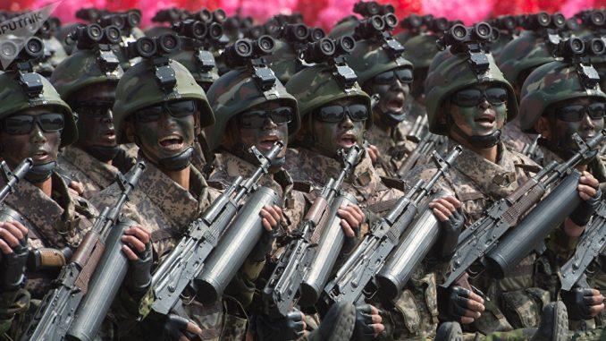 عناصر القوات المسلحة الكورية الشمالية