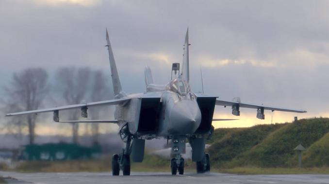"""مقاتلات """"ميغ-31 MB"""" (روسيا اليوم)"""