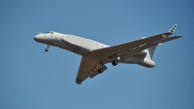 طائرة الاستطلاع والحرب الإلكترونية من نوع G550