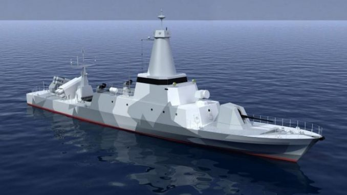 صورة توضيحية عن زورق الدورية البحرية FS56 الفرنسي (CMN)