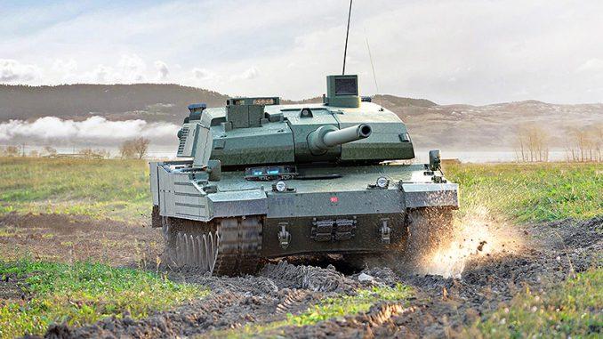 """دبابة """"ألتاي"""" التركية محلية الصنع (Otokar)"""
