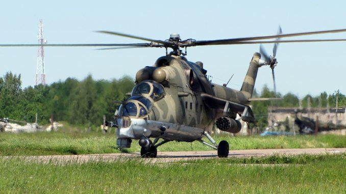 مروحية مي-24 العسكرية الروسية