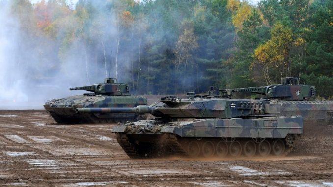 """دبابة """"ليوبارد 2 A7"""""""