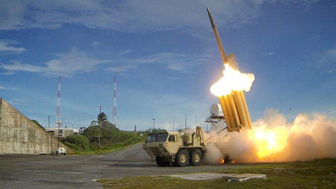 منظومة صواريخ الدفاع الجوي ثاد (صور أرشيفية)