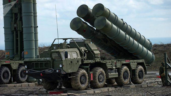 نظام صواريخ أس-400 الروسي (وكالة سبوتنيك)