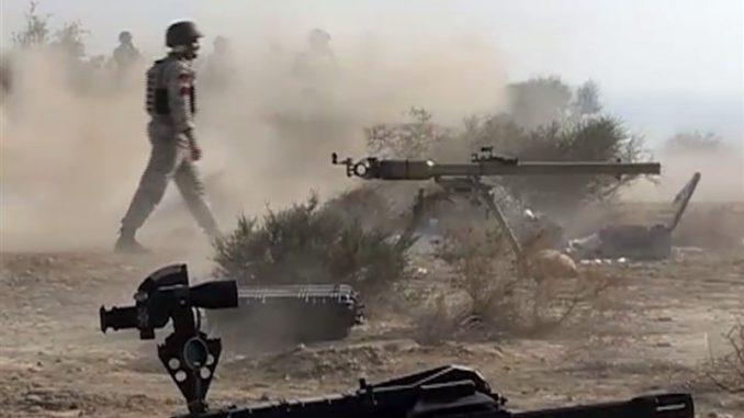 قاذف القنابل اليدوية من عيار 40 ميليمتر الإيراني (وكالة تسنيم)