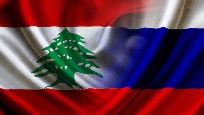 علما لبنان وروسيا