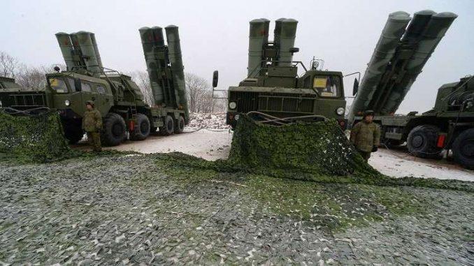 """منظومات """"إس-400"""" الروسية المضادة للجو (روسيا اليوم)"""