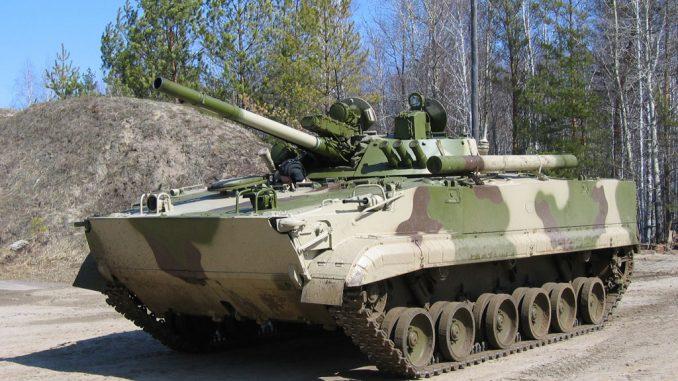 مدرعة BMP-3 الروسي