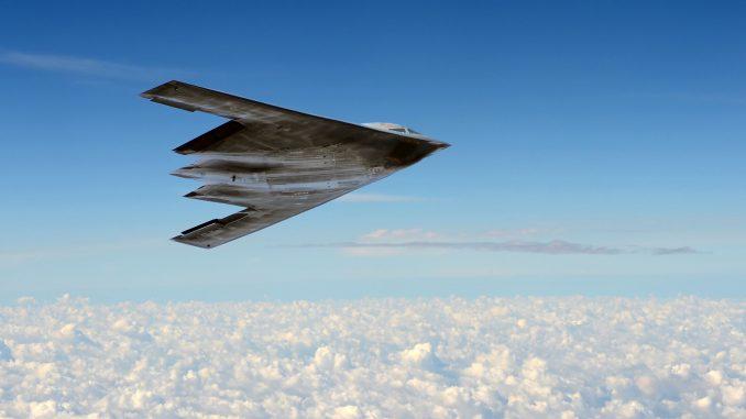 قاذفة بي-2 الأميركية