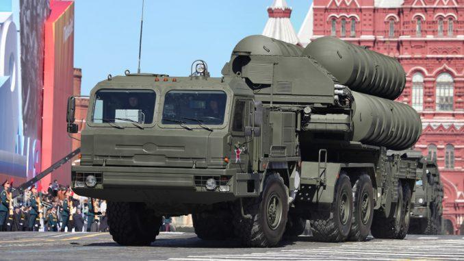 منظومة صواريخ إس-400 الروسية